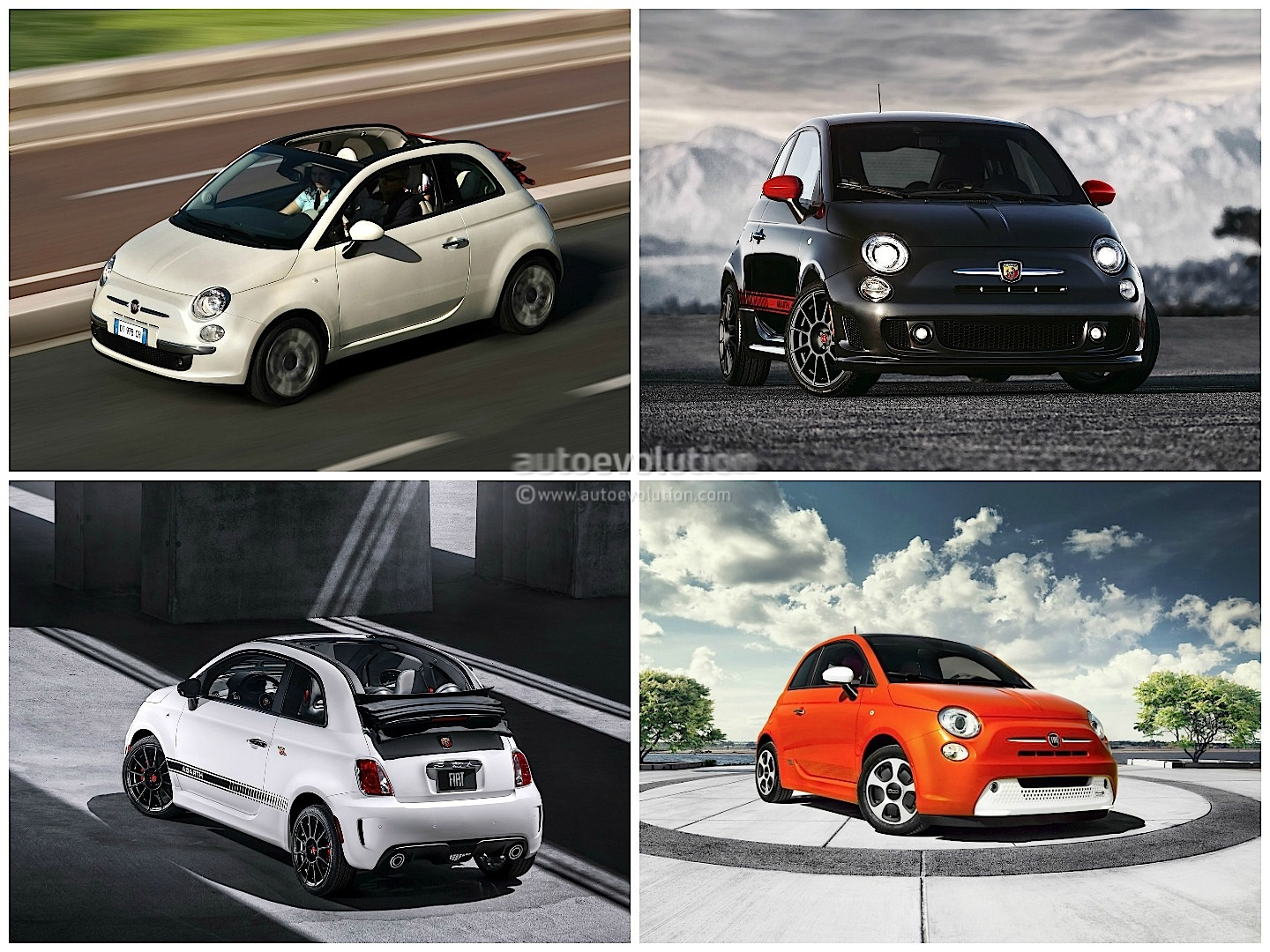 fiat 500x vs 500l vs 500: italian family comparison - autoevolution