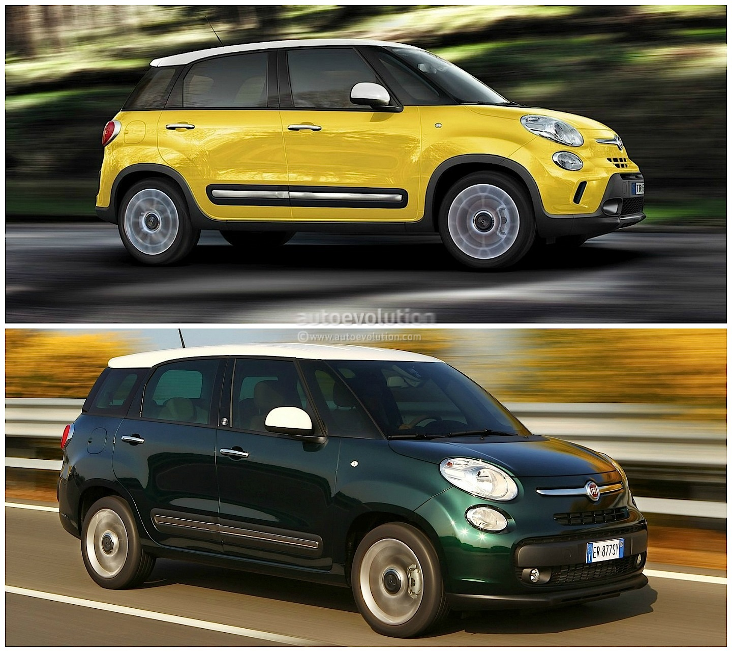 fiat 500x vs 500l vs 500 italian family comparison autoevolution. Black Bedroom Furniture Sets. Home Design Ideas