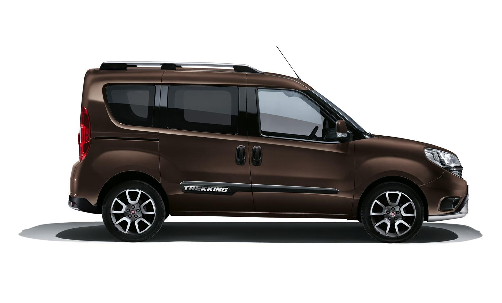 fiat doblo trekking gets 10 mm of extra ground clearance. Black Bedroom Furniture Sets. Home Design Ideas