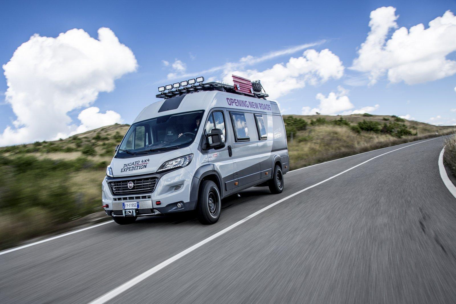 fiat ducato 4x4 expedition will take you camping where no one has ever camped before autoevolution. Black Bedroom Furniture Sets. Home Design Ideas