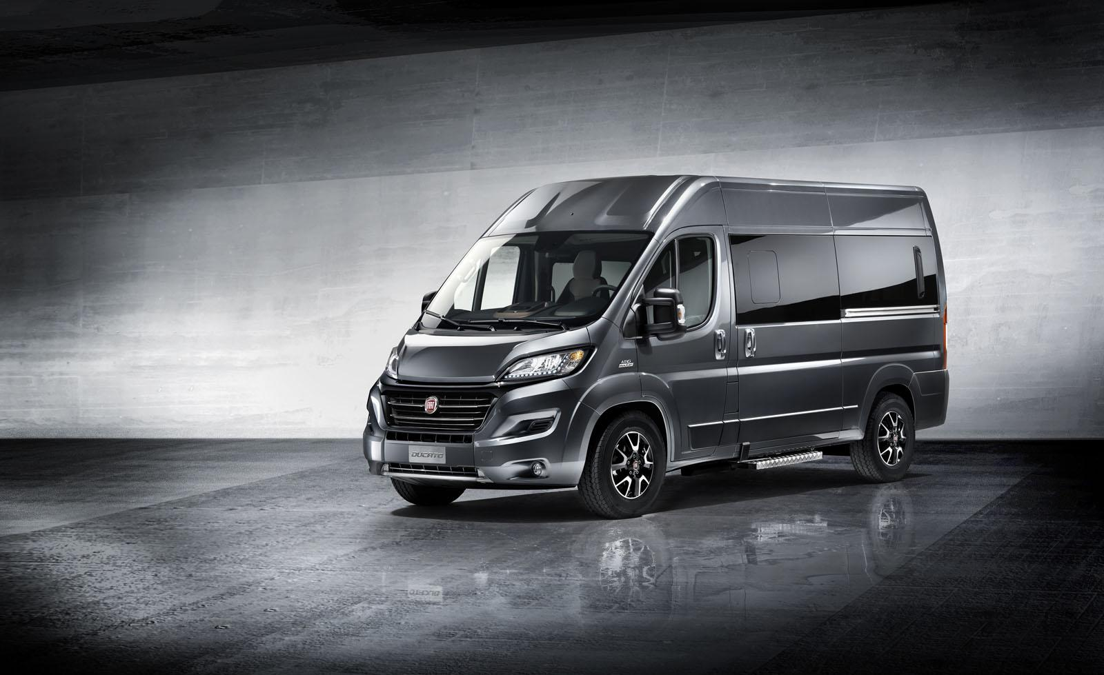 fiat ducato facelift gets more of everything video autoevolution. Black Bedroom Furniture Sets. Home Design Ideas