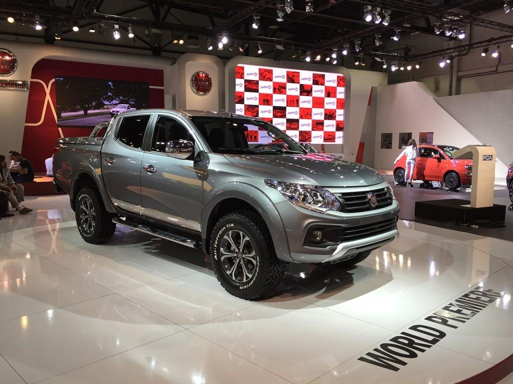 New Fiat Fullback Pickup Truck Is the Mitsubishi L200's Italian Cousin - autoevolution