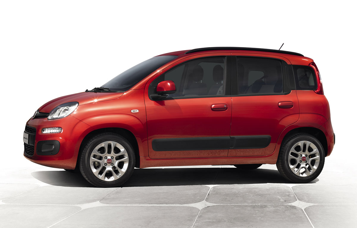 fiat introduces new panda ahead of frankfurt debut. Black Bedroom Furniture Sets. Home Design Ideas