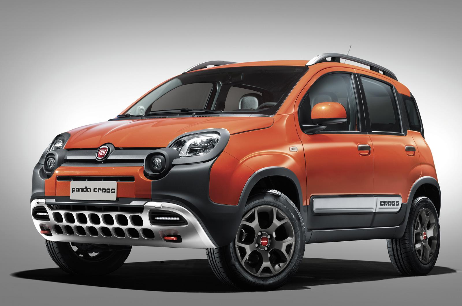fiat panda cross is the cutest little crossover ever autoevolution. Black Bedroom Furniture Sets. Home Design Ideas