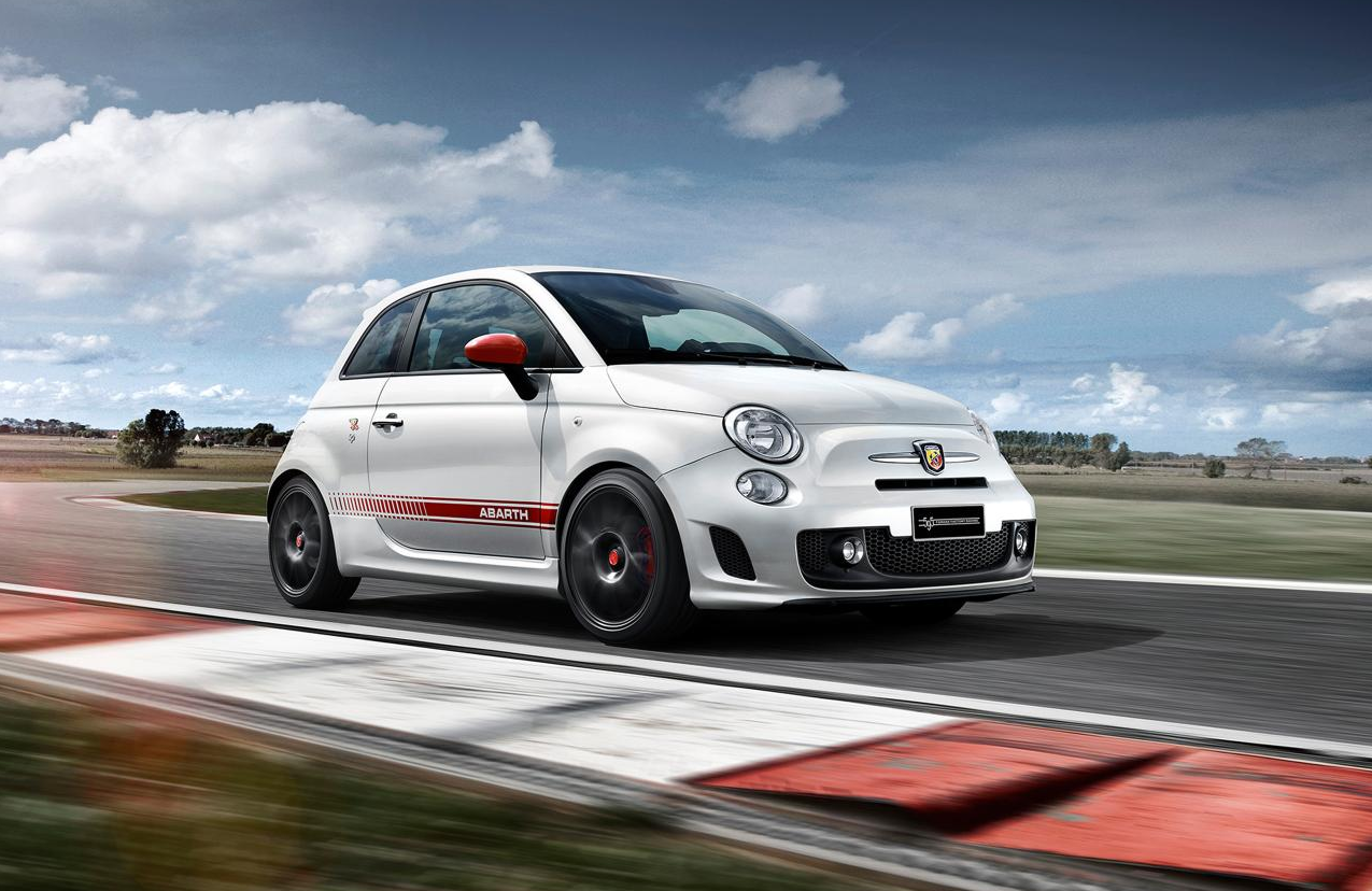 fiat reveals abarth 595 yamaha factory racing edition autoevolution. Black Bedroom Furniture Sets. Home Design Ideas