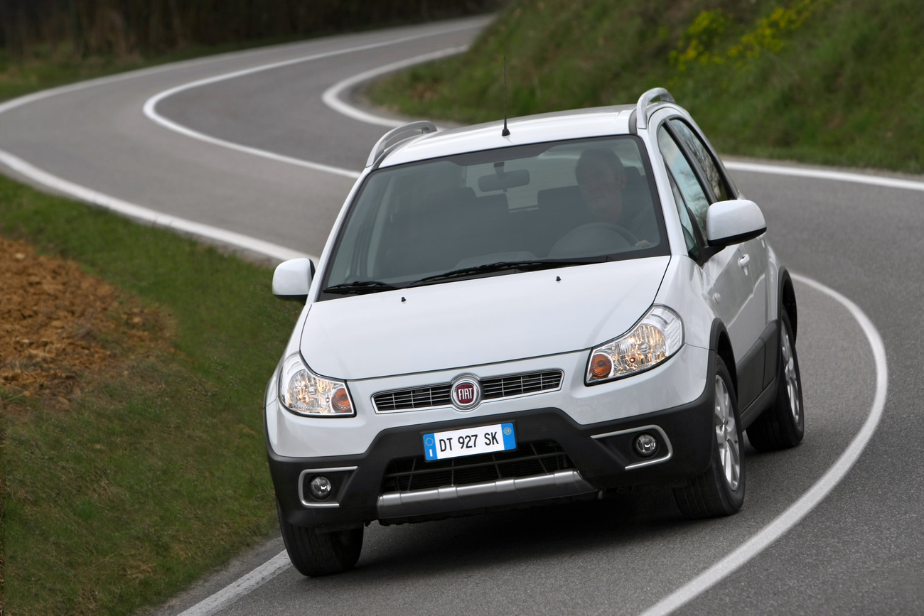 fiat sedici crossover facelift unveiled new engines included autoevolution. Black Bedroom Furniture Sets. Home Design Ideas