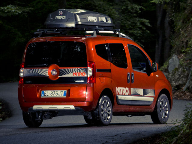fiat shows off snowboard friendly nitro editions of qubo. Black Bedroom Furniture Sets. Home Design Ideas