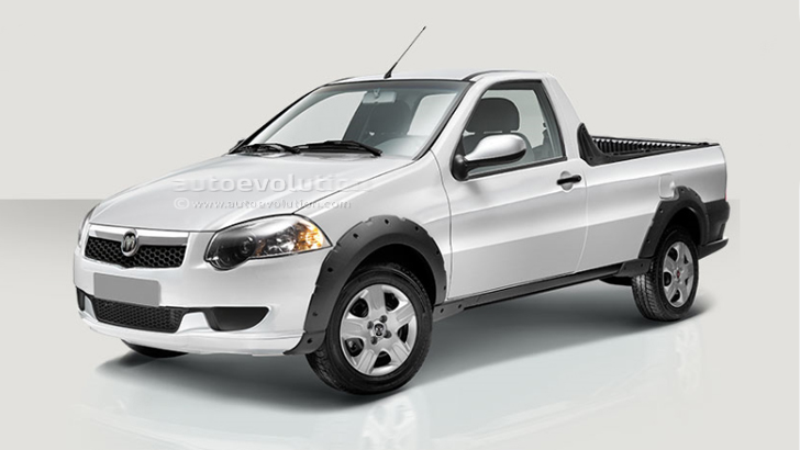Amarok 2018 Precio Mexico >> 2015 Ram 750 is a Mexican Fiat Strada - autoevolution