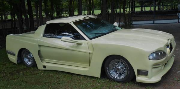 Fiberglass Bodied Pontiac Firebird Trans Am Ugliest Car