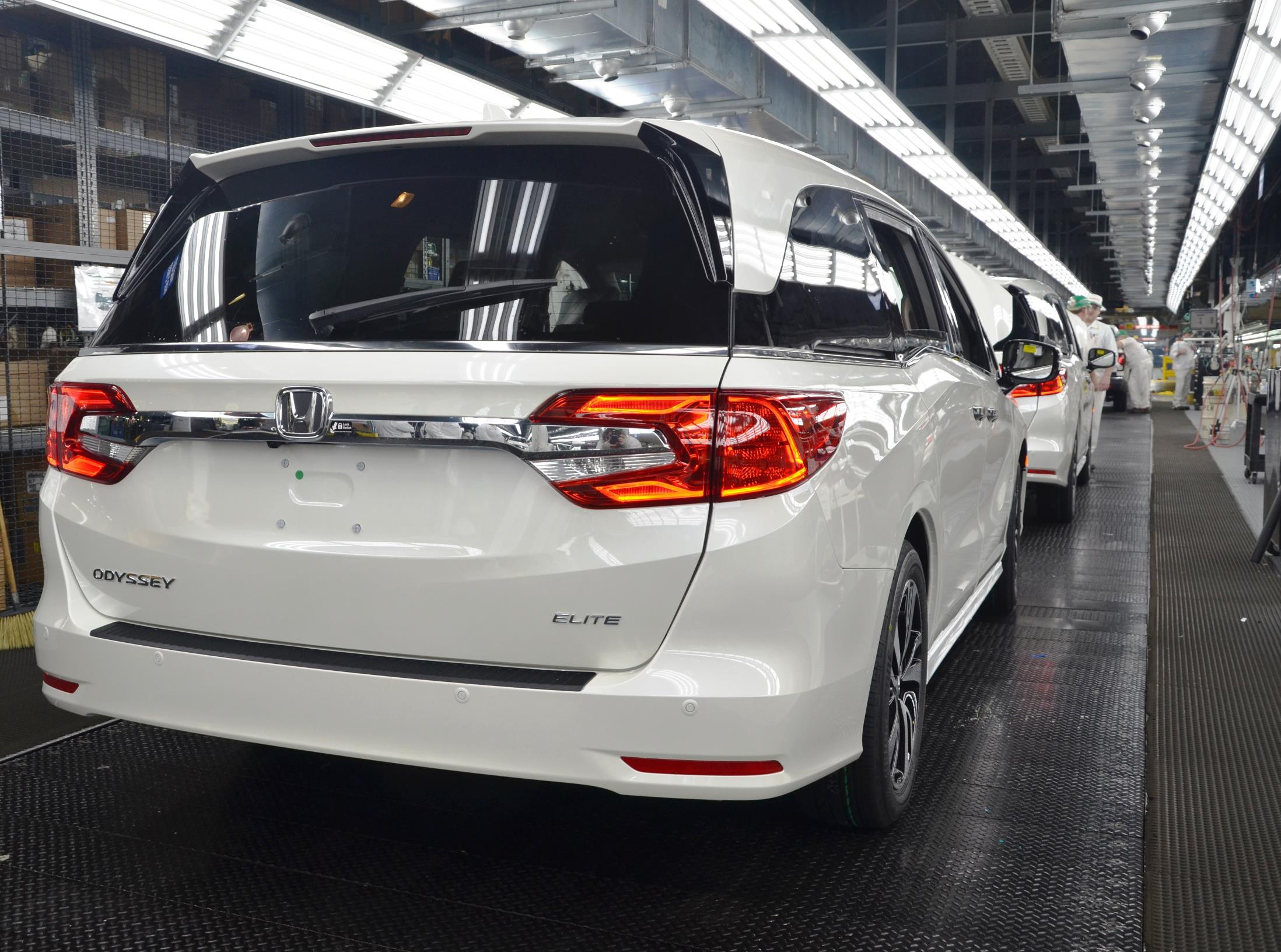 fifth generation honda odyssey begin production in alabama with 10 speed auto