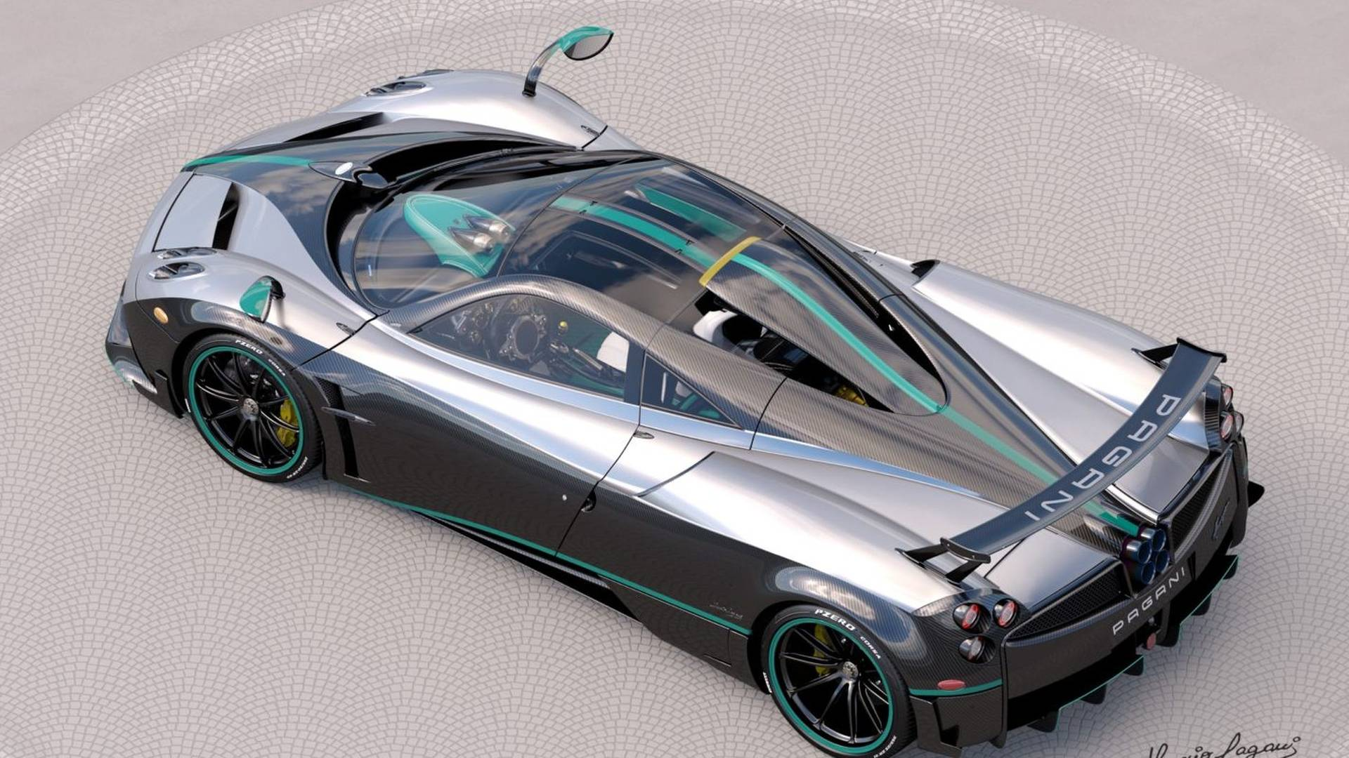 The Final Pagani Huayra Coupe Will Be Painted Like Lewis Hamilton\'s ...