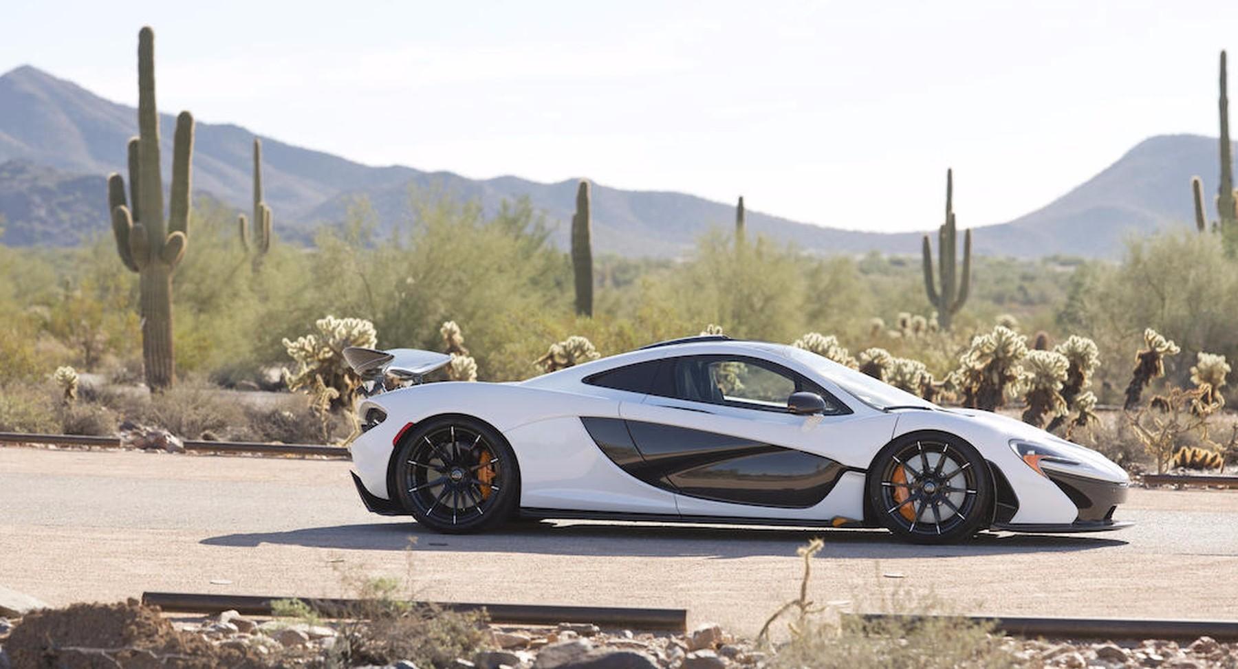 Final US-Spec McLaren P1 Is Up For Auction