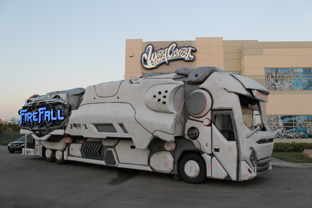 Firefall Gaming Truck Built By Wcc Autoevolution