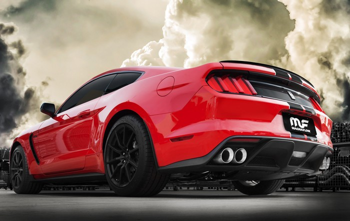 Ford Lightning Exhaust System ... Mustang Shelby GT350 Custom Exhaust Comes from Magnaflow, Adds 15 HP