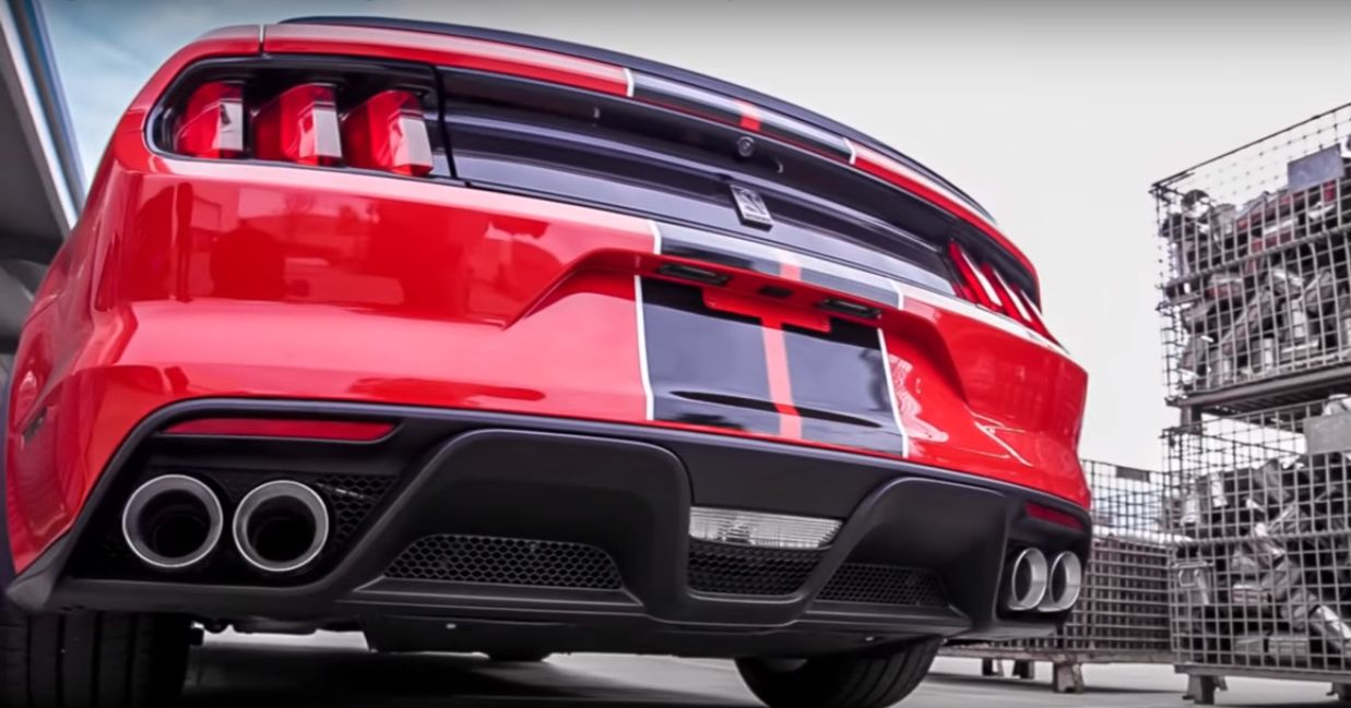 2016 Ford Mustang Shelby Gt350 With Magnaflow Exhaust