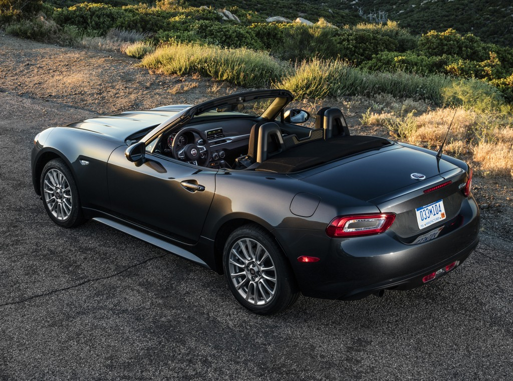 2017 Fiat 124 Spider Sets Foot on American Soil ...