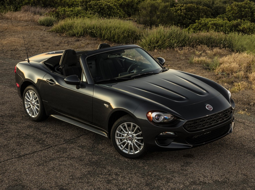 2017 fiat 124 spider sets foot on american soil autoevolution. Black Bedroom Furniture Sets. Home Design Ideas