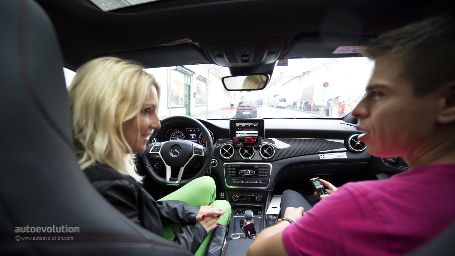 First Cla 45 Amg Taxi Is Owned And Driven By A Woman
