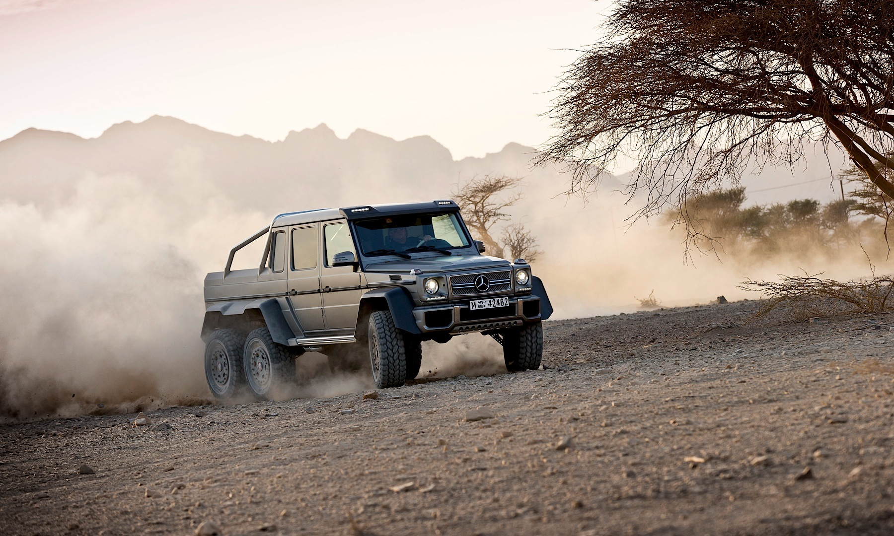 First G 63 Amg 6x6 Built Is Up For Grabs Autoevolution