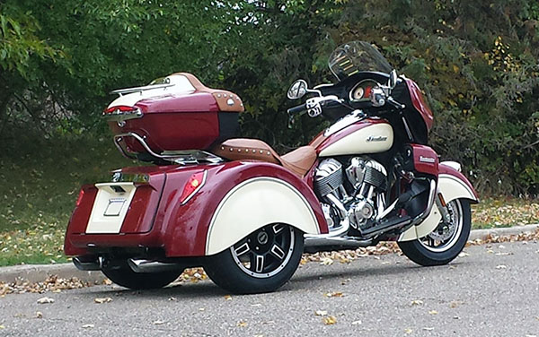 First Indian Roadmaster Trike Is Ready Looks Really Trick