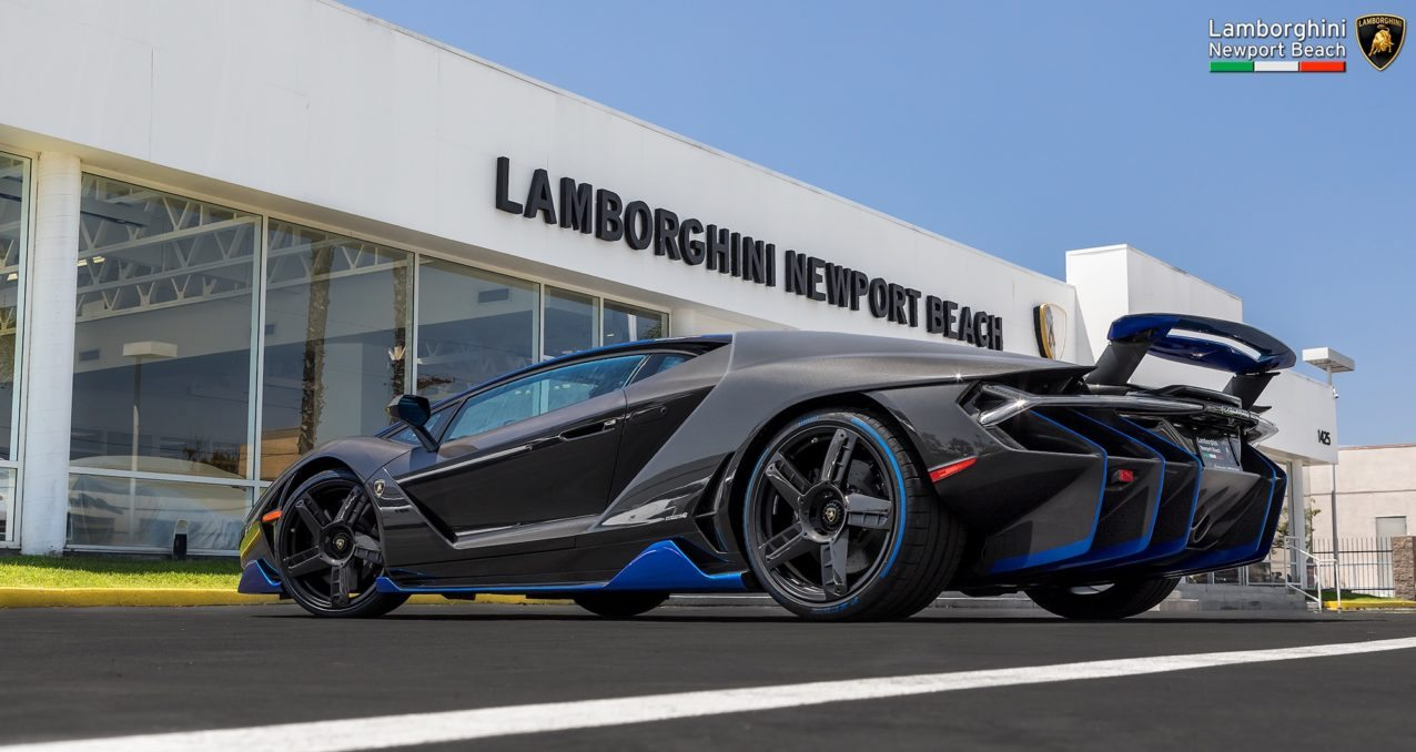 First Lamborghini Centenario In The US Arrives At Newport Beach - Lamborghini newport beach car show 2018