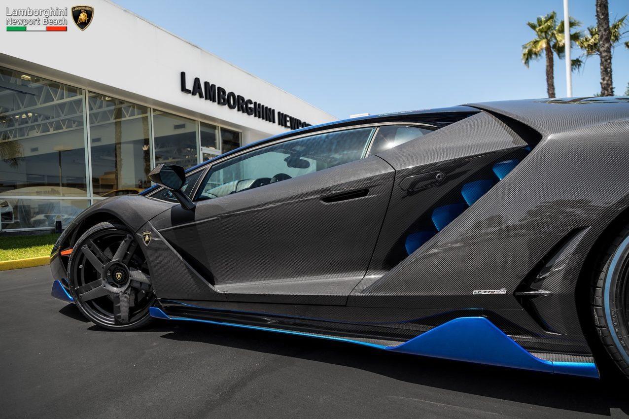 ... First Lamborghini Centenario In The U.S. Arrives At Newport Beach ...