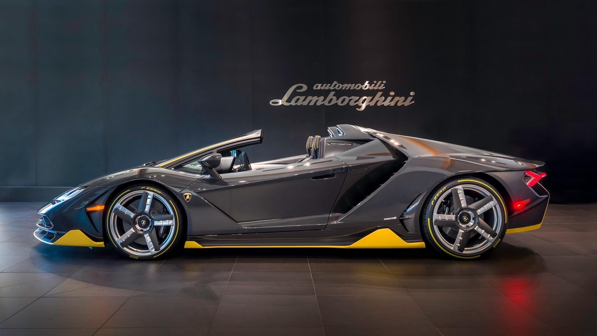 First Lamborghini Centenario Roadster Gets Quot Unboxed Quot In