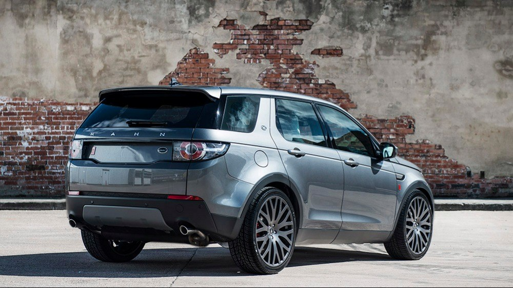 first land rover discovery sport tunedkahn design - autoevolution