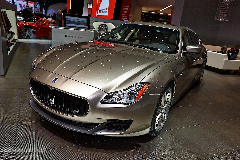 First Maserati Quattroporte Zegna Debuts At Geneva Live