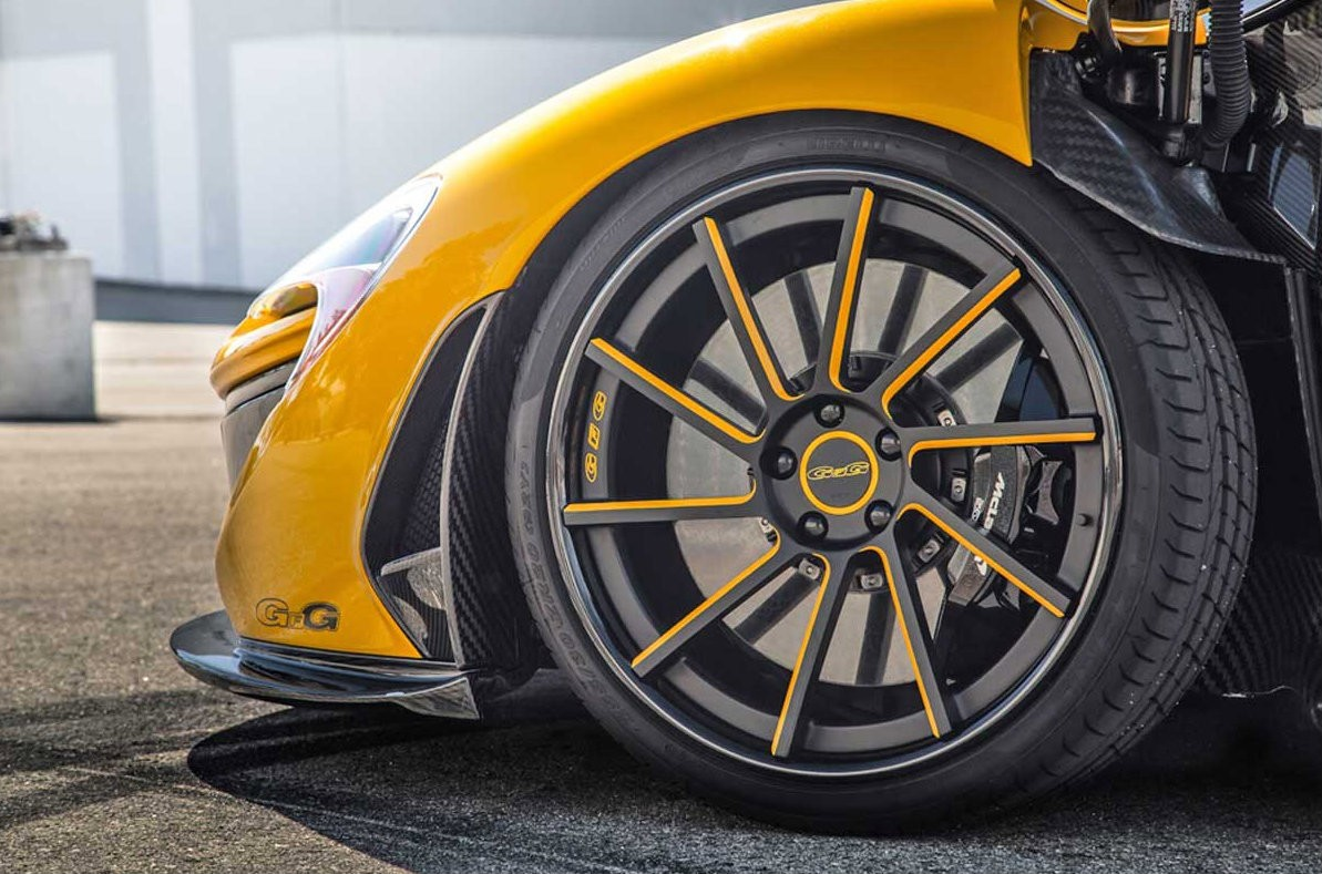 First Mclaren P1 In The Us Wears Giovanna Wheels