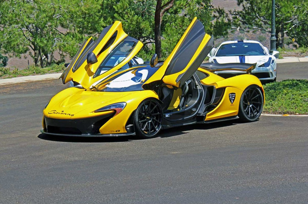 Dallas Auto Show >> First McLaren P1 in the US Wears Giovanna Wheels, Advertised for $2.3 Million - autoevolution