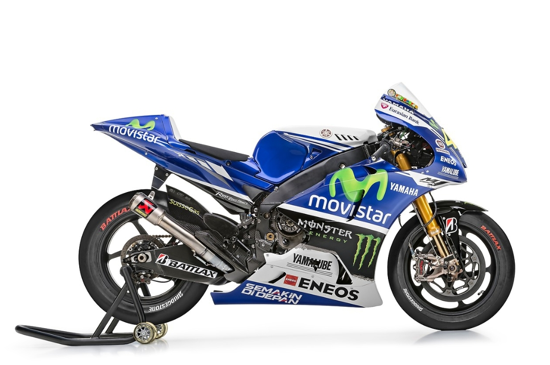 First Official Photos of the 2014 Yamaha MotoGP Bikes - autoevolution