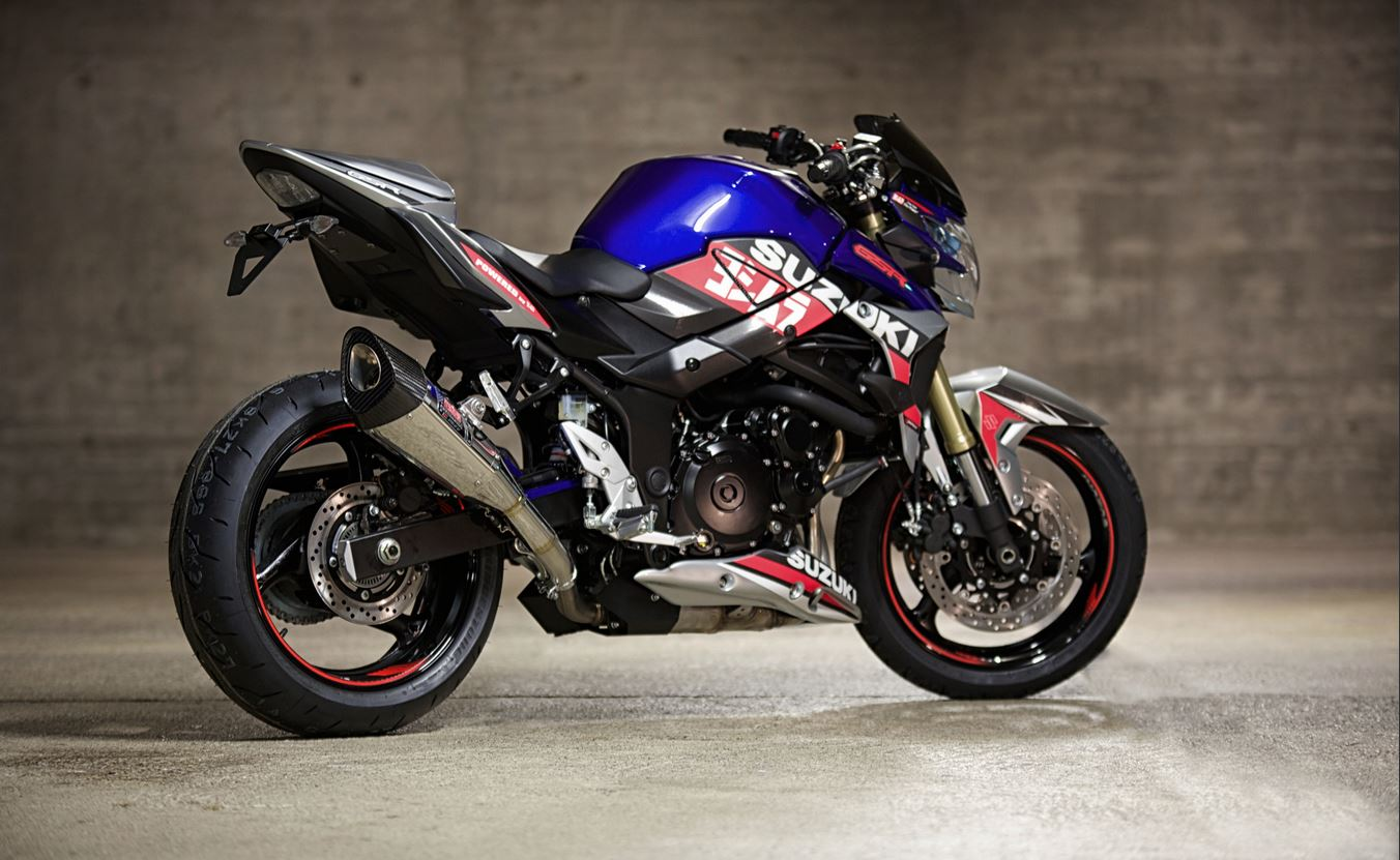 first pics of the 2014 suzuki gsr750 yoshimura special edition autoevolution. Black Bedroom Furniture Sets. Home Design Ideas