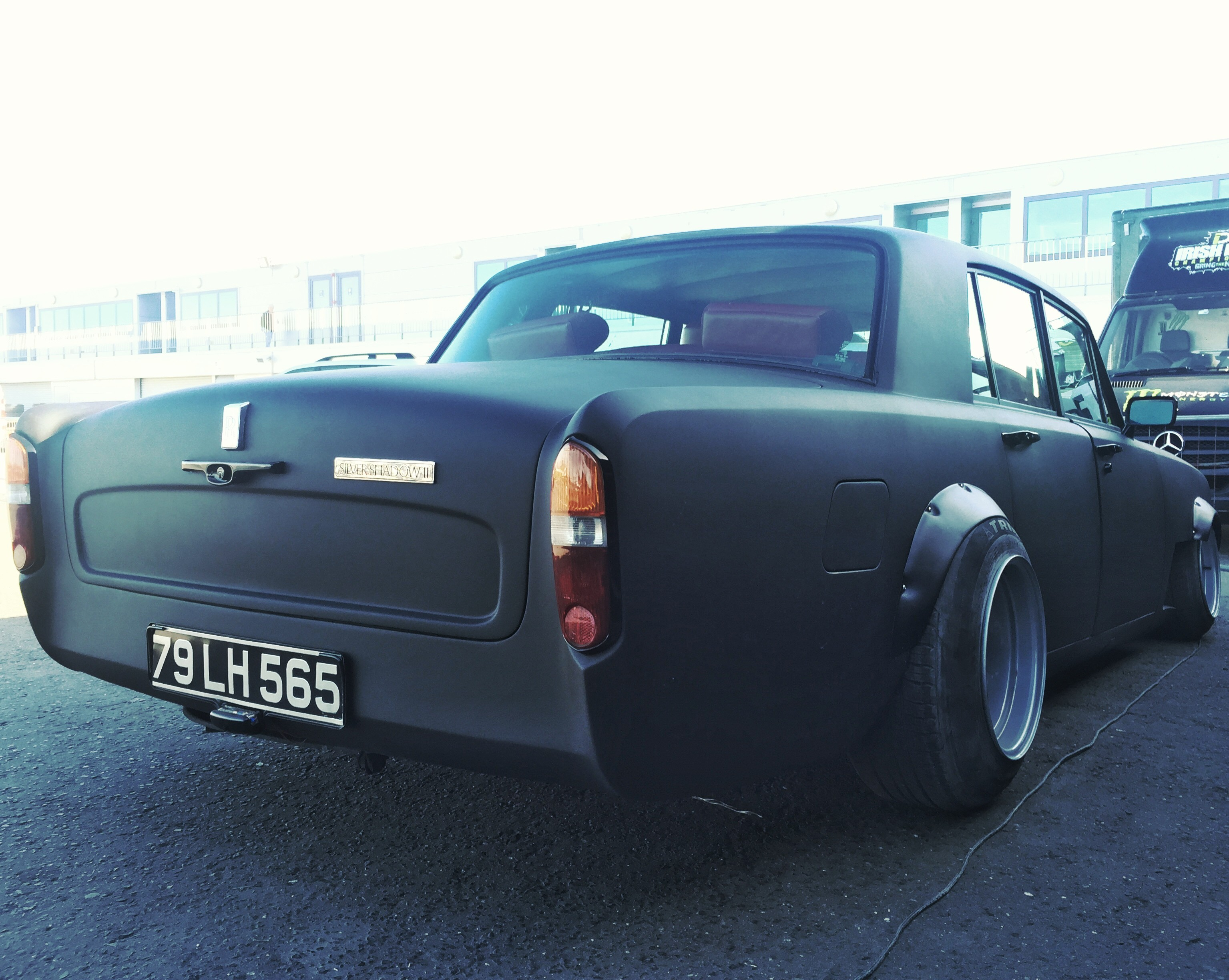 First Rolls Royce Drift Car Is A Silver Shadow Raced By