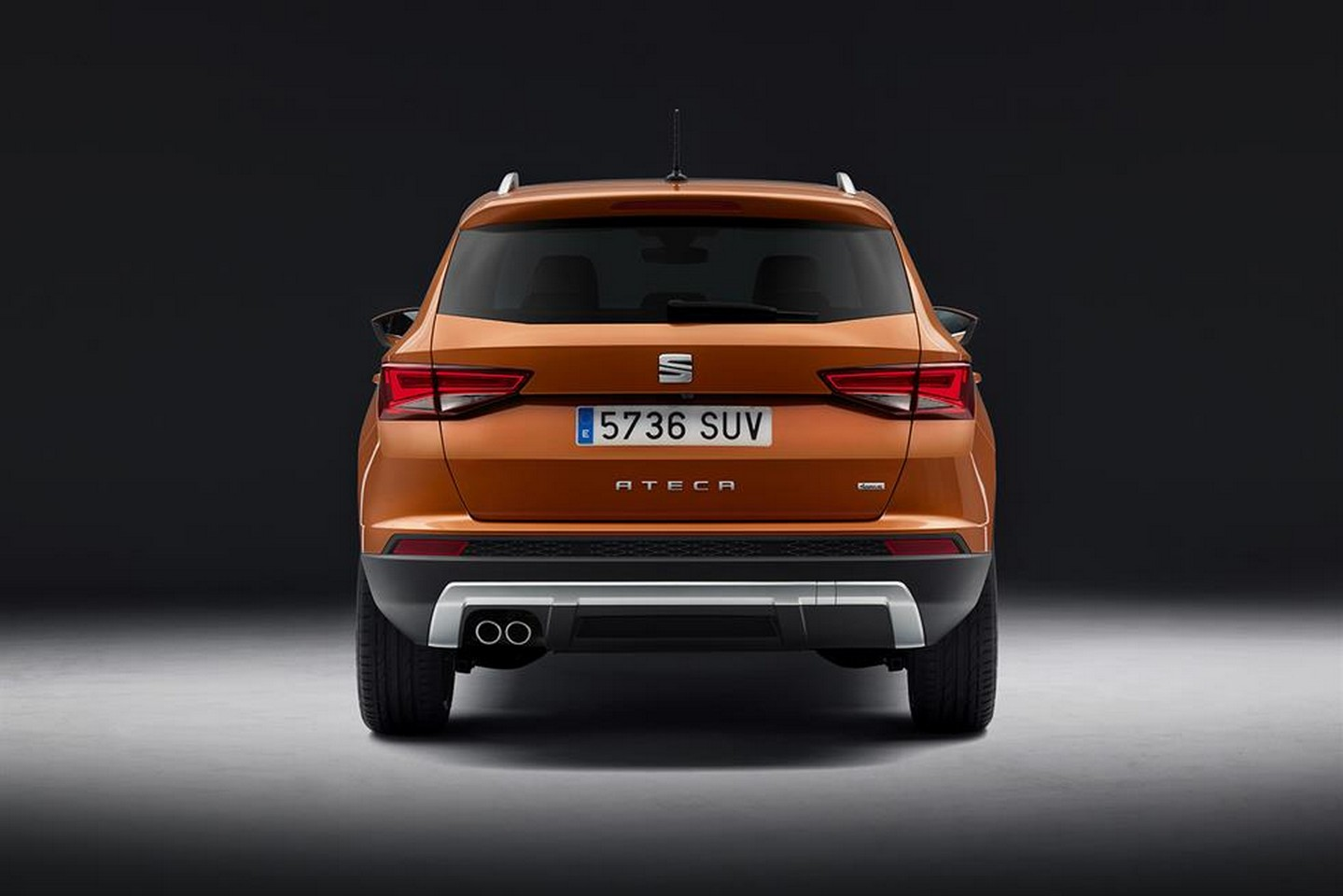 first seat suv is called ateca official images leaked ahead of debut autoevolution. Black Bedroom Furniture Sets. Home Design Ideas