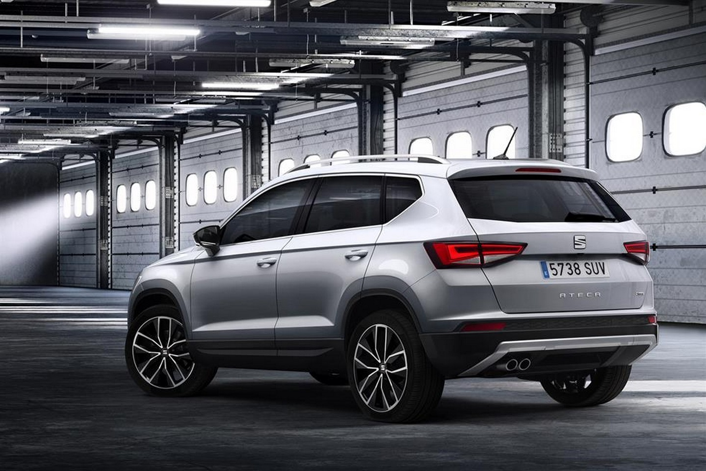 first seat suv is called ateca official images leaked. Black Bedroom Furniture Sets. Home Design Ideas