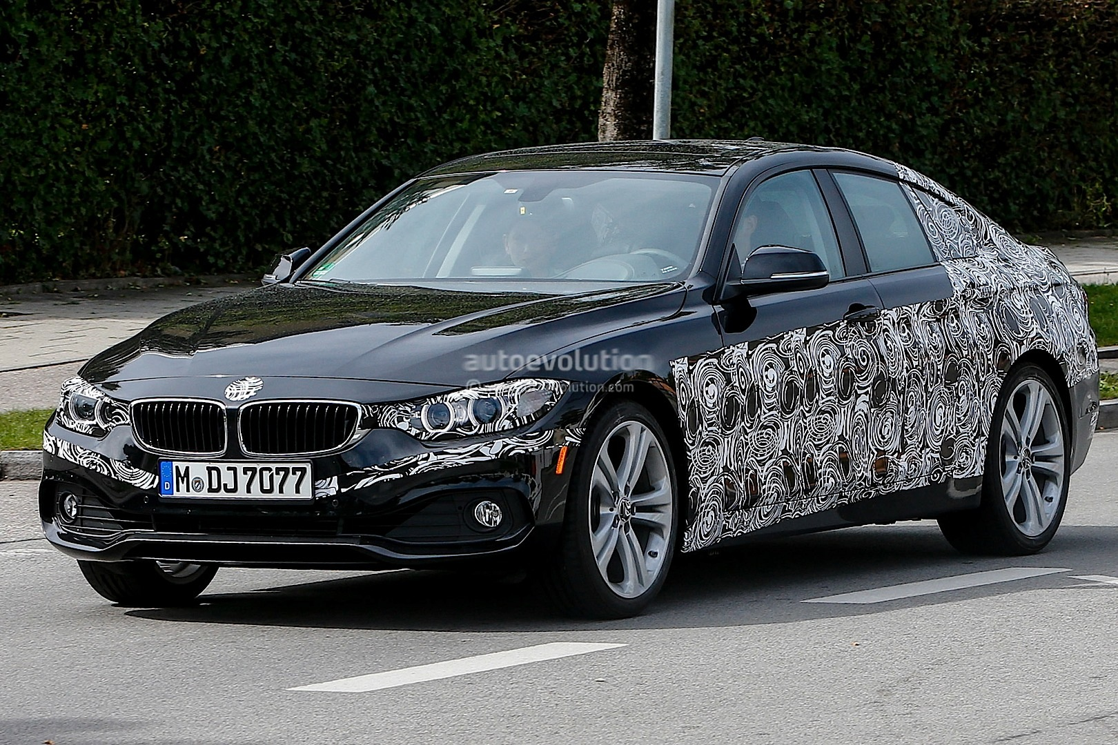 First Spy Shots Of The Upcoming Bmw F36 4 Series Gran