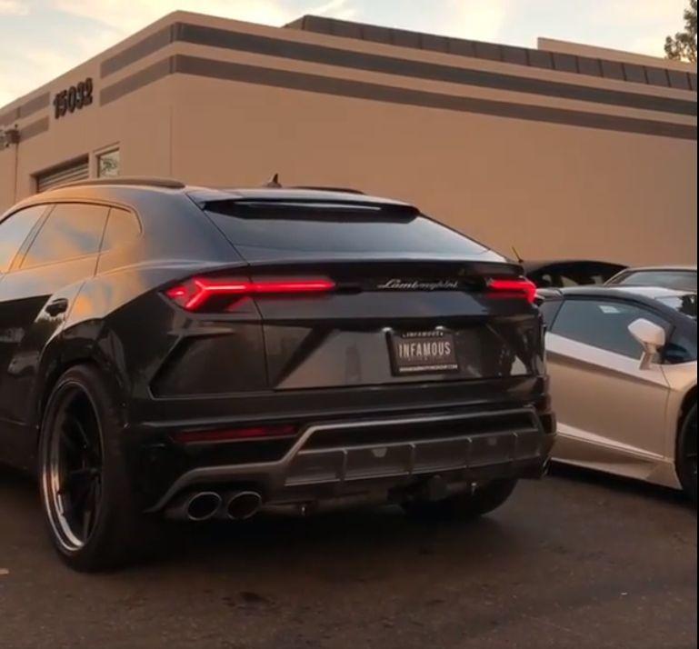 First Tuned Lamborghini Urus In The Us Has 24 Inch Wheels Brutal