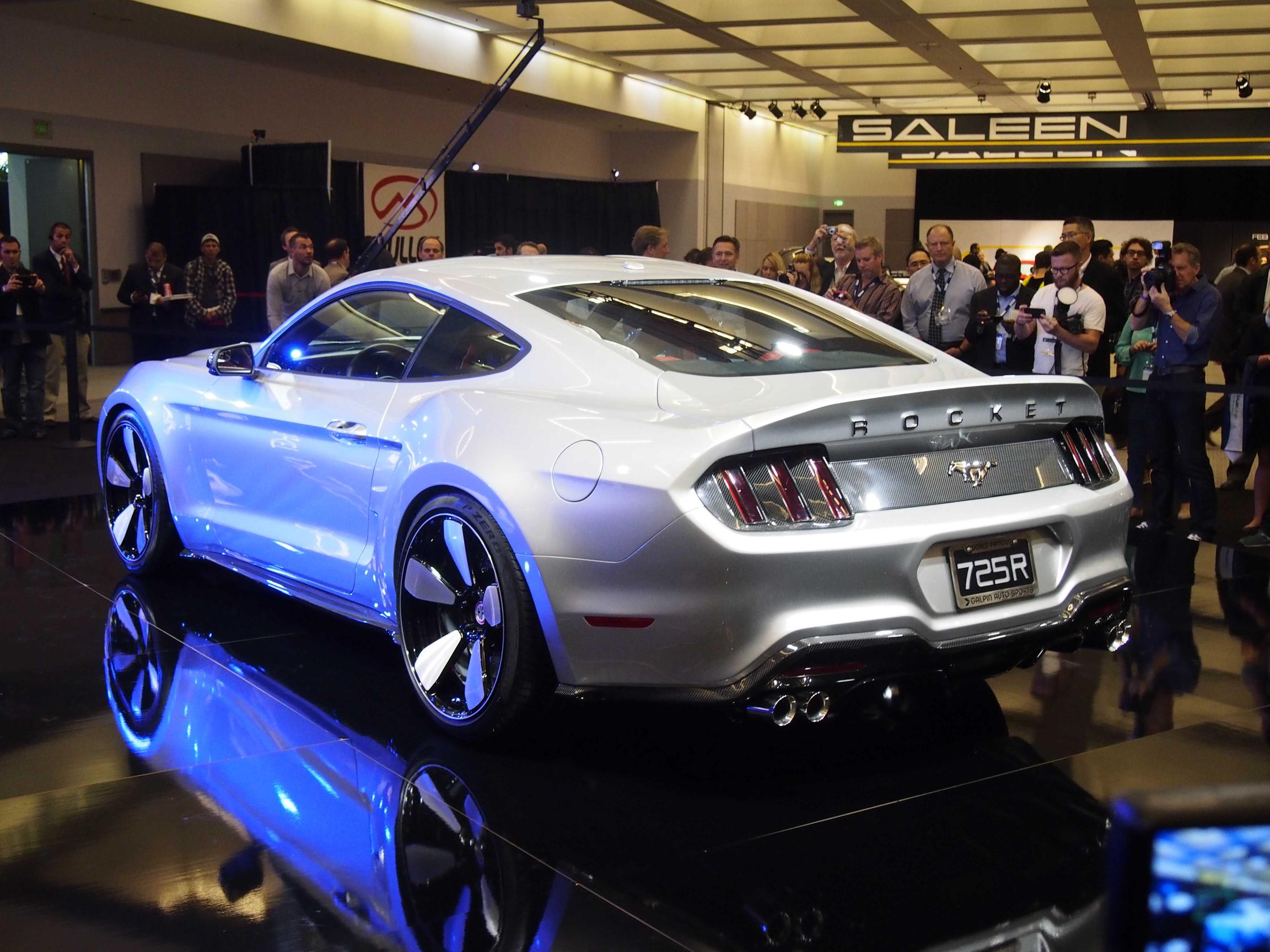 Fisker rocket mustang by galpin auto sports