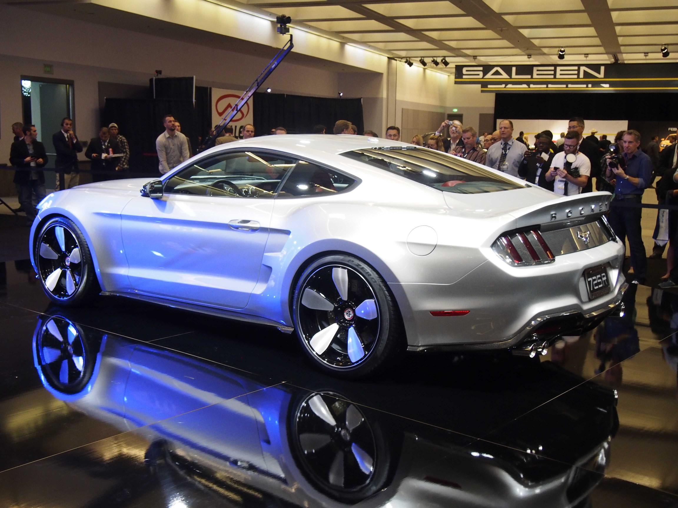 Fisker Rocket By Galpin Auto Sports Is A 725 Hp Ford