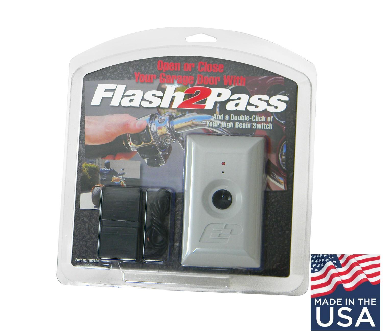 UPDATE: Flash2Pass Headlight-Activated Garage Door Opener