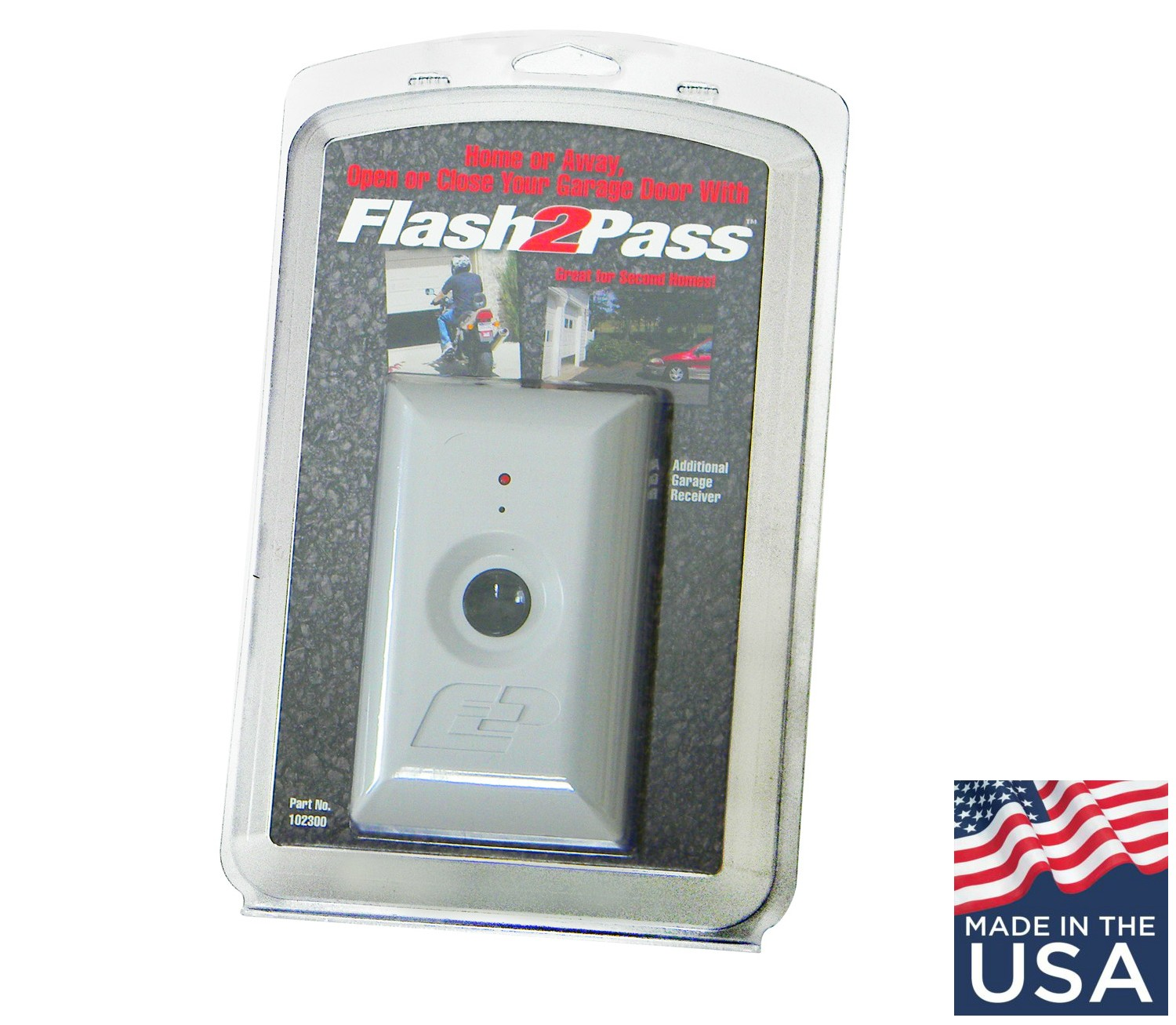 Update flash2pass headlight activated garage door opener is back if youre too young to remember seeing the old flash2pass in action well explain to you the simple and convenient philosophy that stands behind it rubansaba