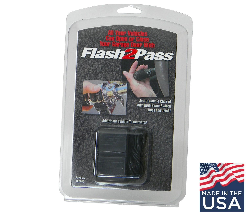 Garage Door Won T Close Lights Flashing: UPDATE: Flash2Pass Headlight-Activated Garage Door Opener