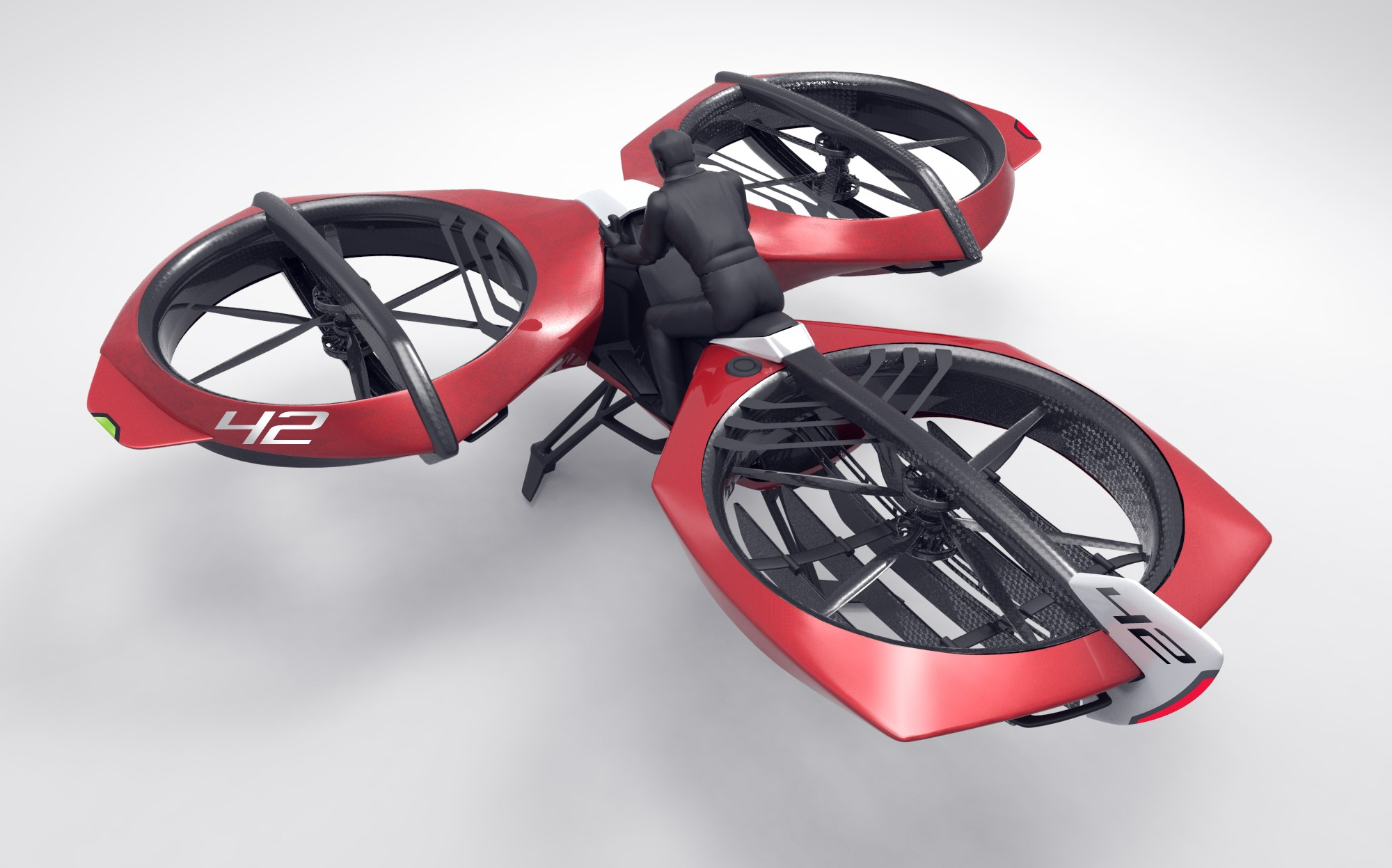 Flike Is A Flying Motorcycle You Can Have For 100k