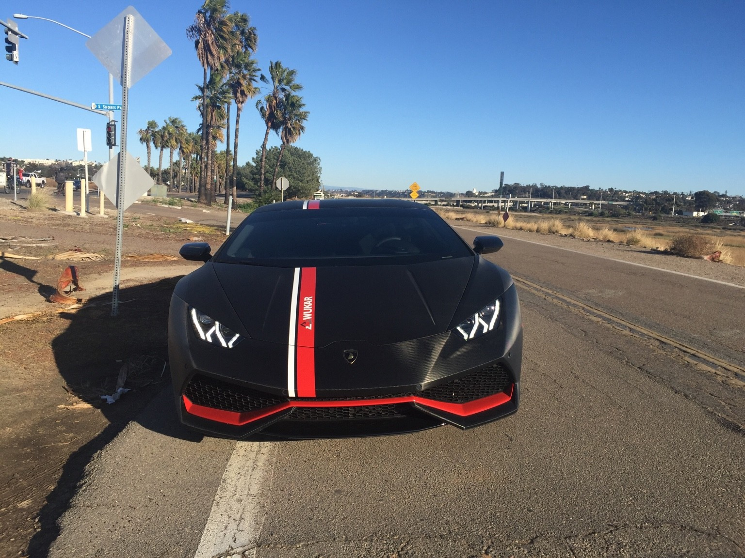 flooded lamborghini in san diego replaced with new huracan