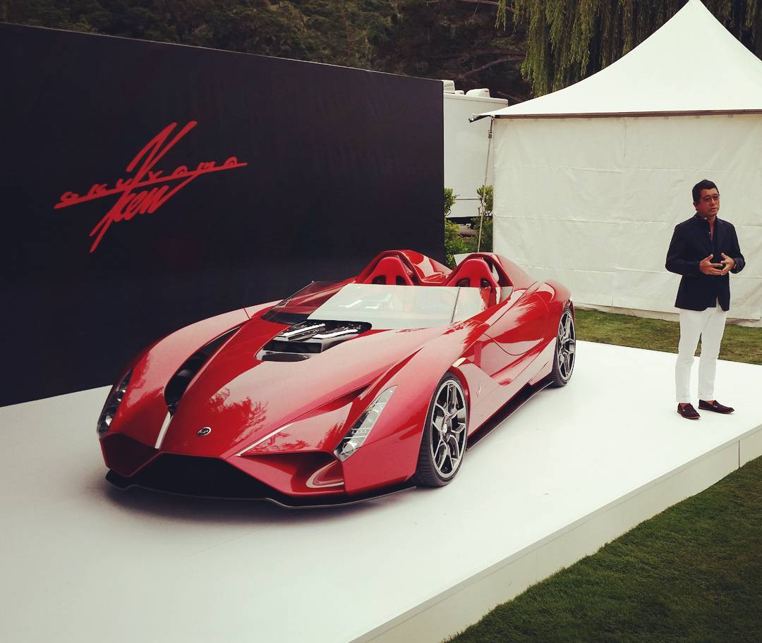 Floyd Mayweather Buys Ken Okuyama S Kode57 Supercar For 2