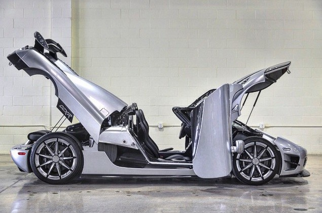 ... is Buying Two Koenigsegg CCXR; One Is the Trevita - autoevolution