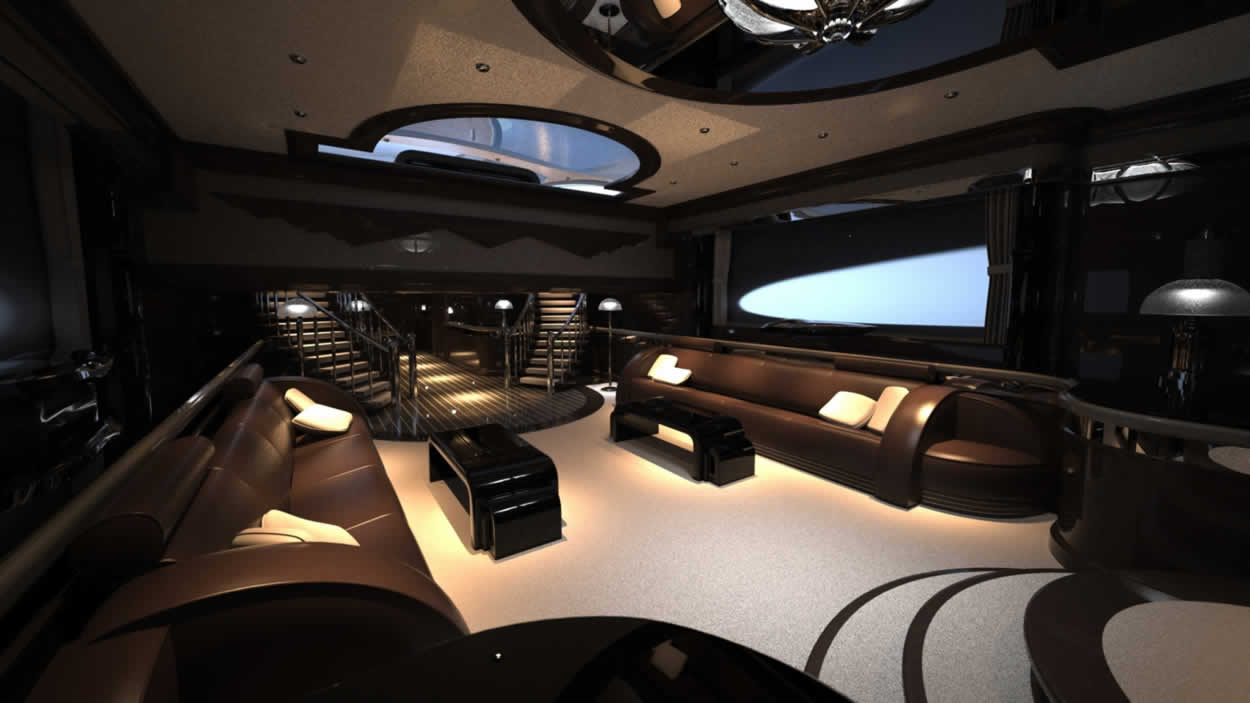 Floyd mayweather wants this 24 million yacht it comes for Interior yates de lujo