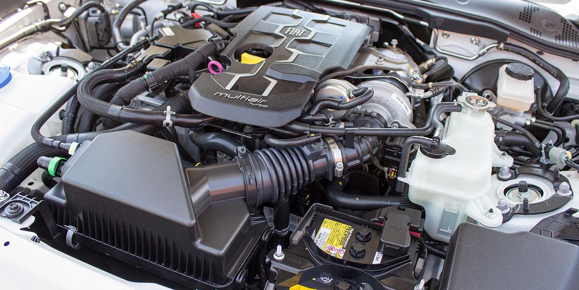 Flyin Spider V8 Engined Fiat 124 By