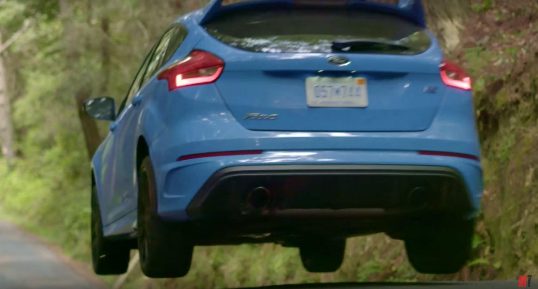 Focus Rs Vs Golf R Head 2 Huge Jumps Brakes On Fire